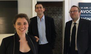 Jean-Yves Moyart, Pauline Neveu, Ludovic Leroy